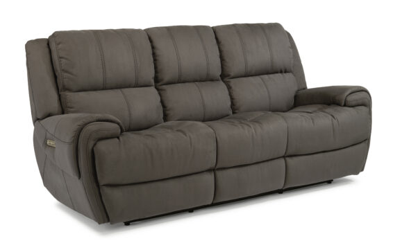 Flexsteel Nance Power Headrest Sofa