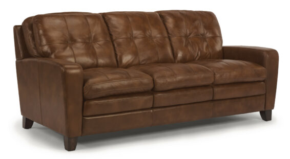 Flexsteel All Leather Sofa