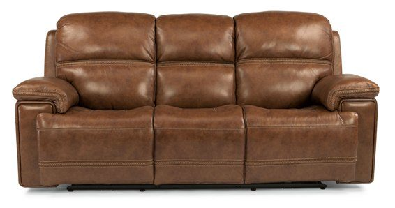 flexsteel fenwick power sofa