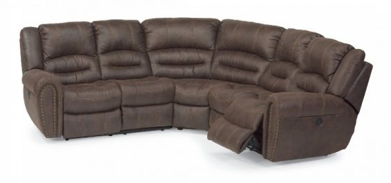 Flexsteel Downtown Power Sectional
