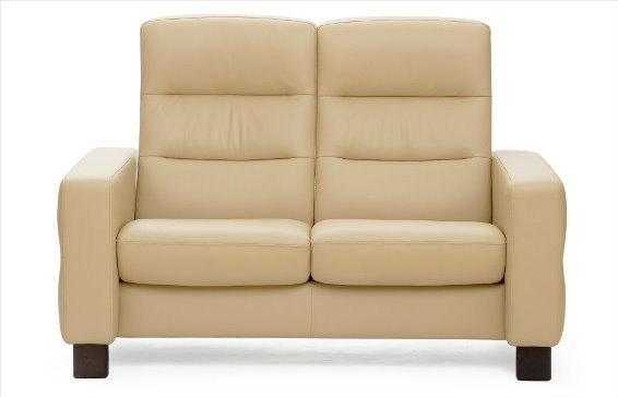 Stressless Wave 2s Loveseat High Back Johnson Furniture