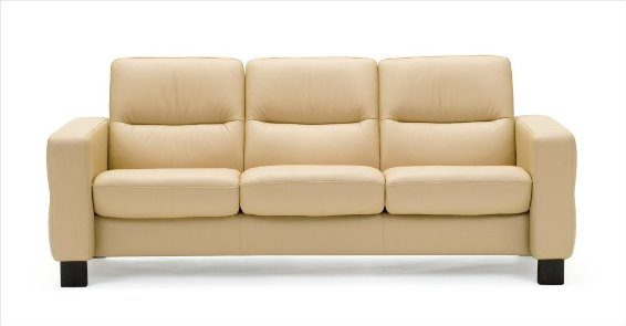Stressless Wave 3S Sofa Low Back