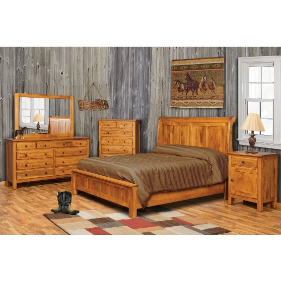 Remarkable Amish Bedroom Furniture Johnson Furniture Mattress Home Interior And Landscaping Mentranervesignezvosmurscom