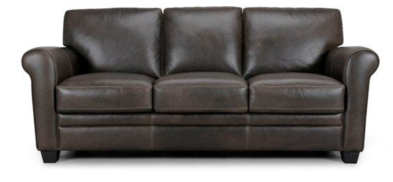 all leather sofa
