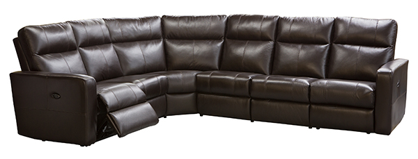 power recline sectional