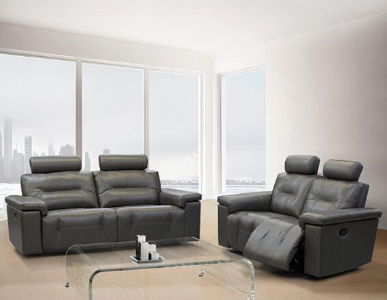 Elran Axel Power Reclining Sofa