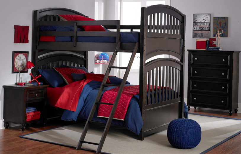 bunk bed dark