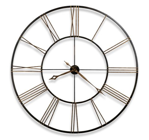 Howard Miller Postema Gallery Wall Clock Black