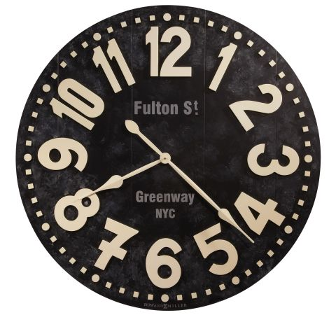 Howard Miller Fulton Street Wall Clock