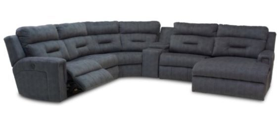Excel Power Headrest Sectional