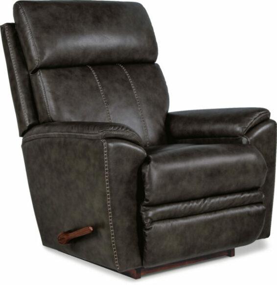 lazboy talladega leather rocker recliner