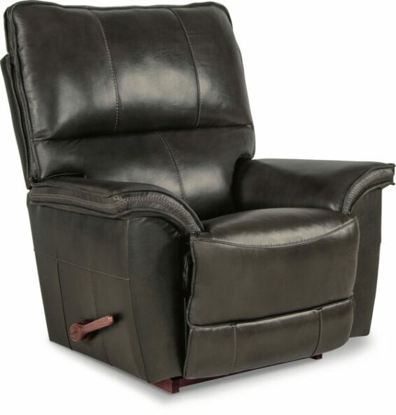 lazboy norris leather rocker recliner
