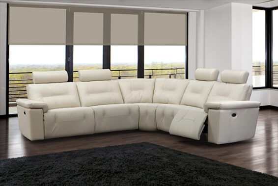Elran Axel Power Reclining Sectional