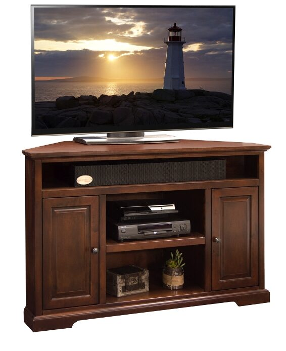 "legends brentwood 56"" corner console"