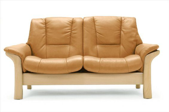 Stressless Buckingham 2S Loveseat Low Back