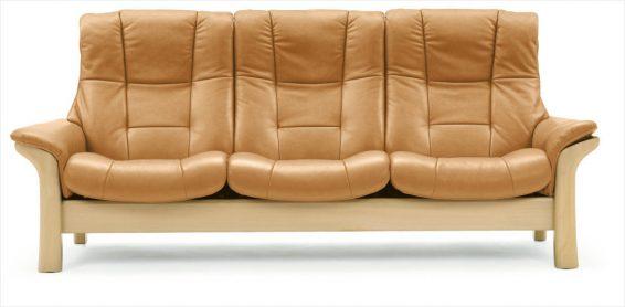 Stressless Buckingham 3S Sofa High Back