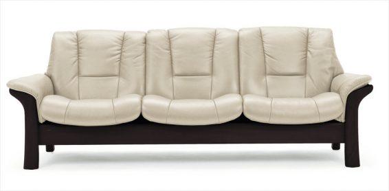 Stressless Buckingham 3S Sofa Low Back
