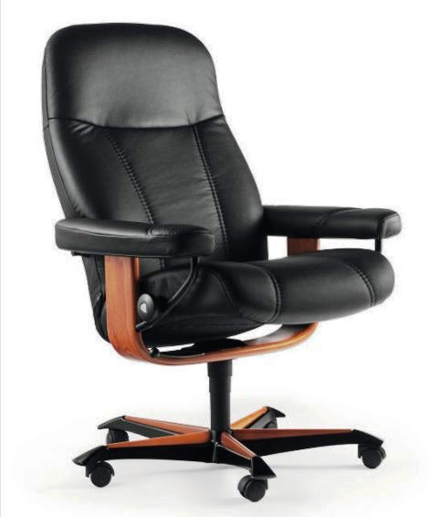 Stressless Consul Medium Office Base