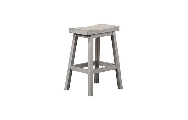 grey saddle stool