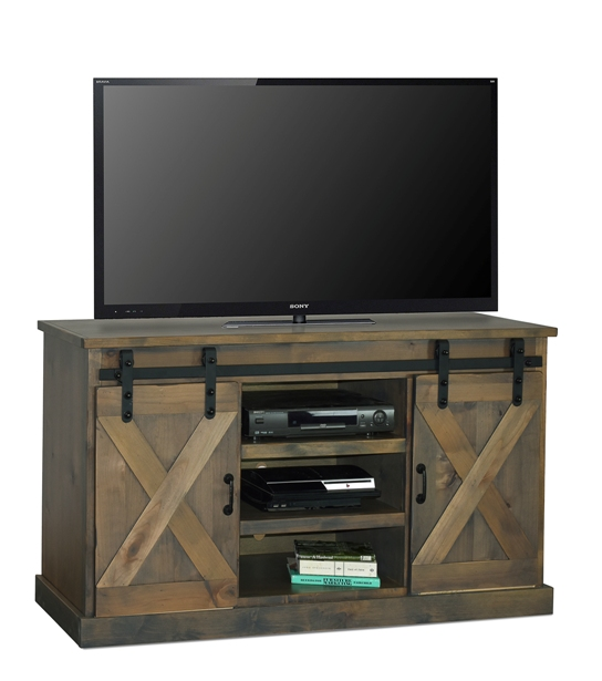 "legends farmhouse barnwood 66"" TV Console"