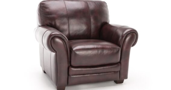 all leather chair