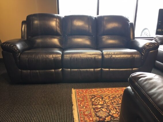 Clearance Power Reclining Sofa