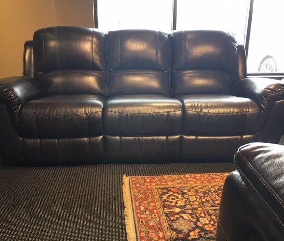 Clearance Power Reclining Sofa