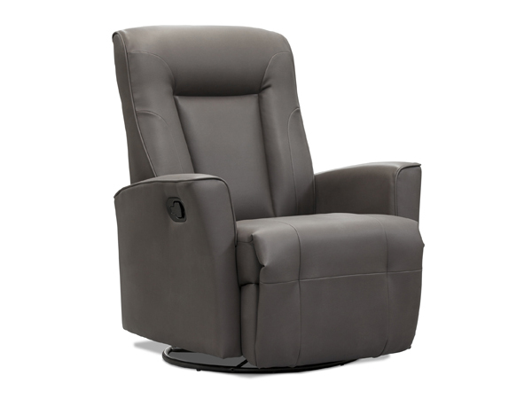 power swivel recliner with glider