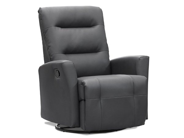 glider recliner with swivel