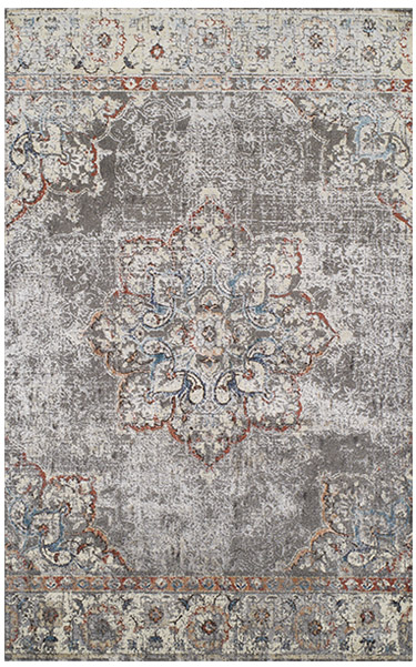 Pewter Area Rug
