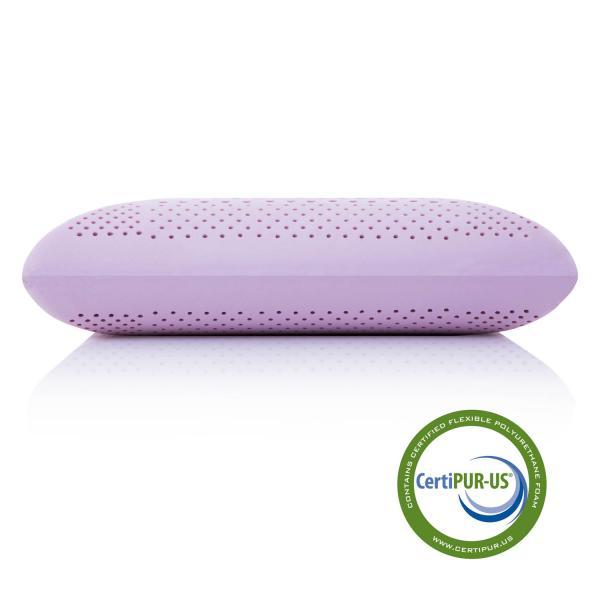 Malouf Zoned Dough Lavender Pillow Queen Johnson