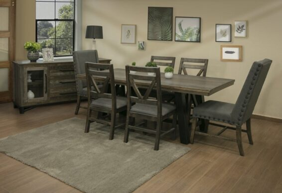 Loft brown dining