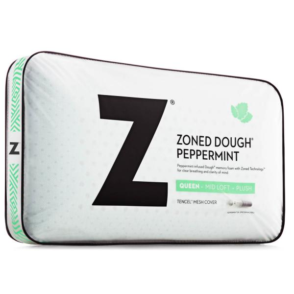 Malouf Zoned Dough Peppermint Pillow Queen