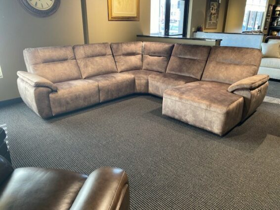 Power Headrest Sectional