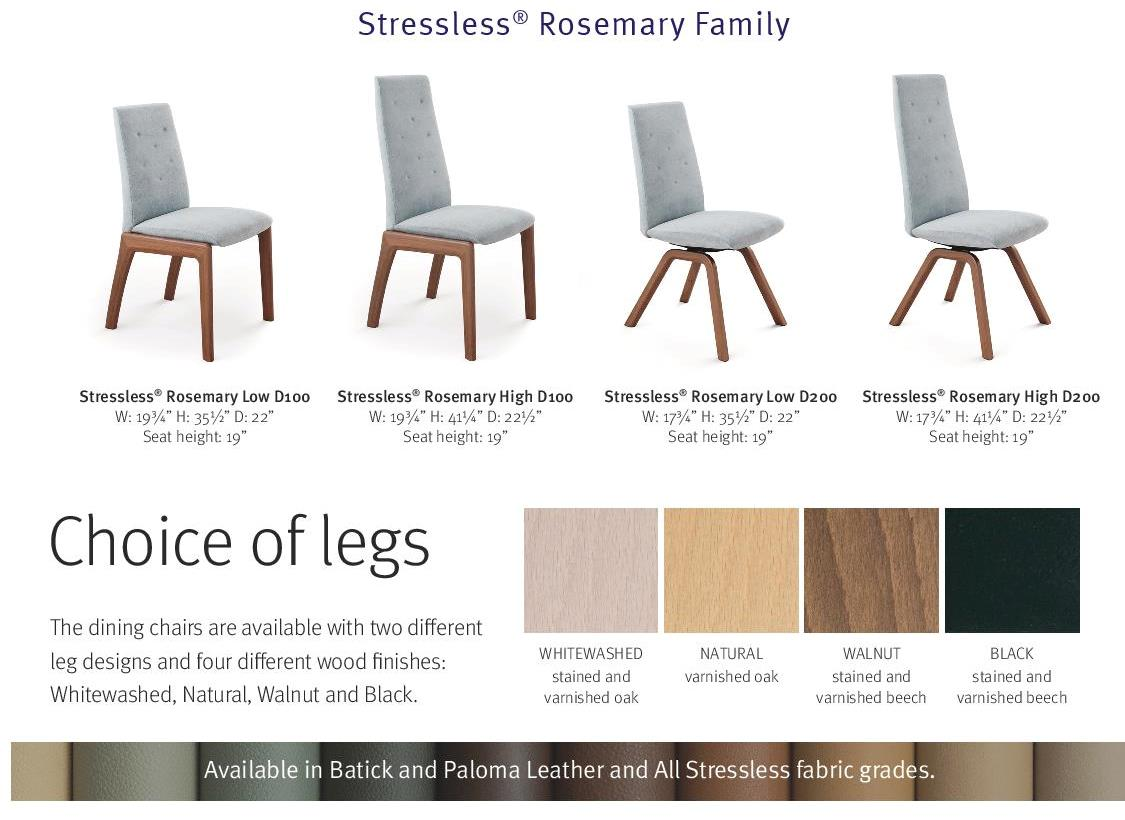 stressless rosemary dining chair