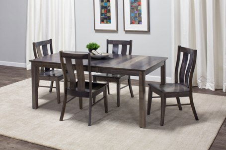Simply Amish Silver Creek Table and Chairs