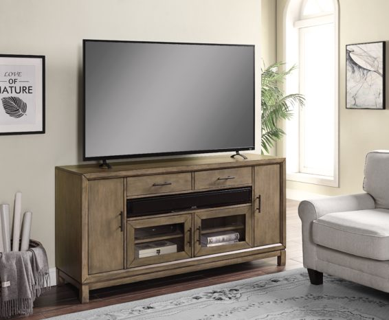 "Smoked Grey 63"" TV Console"