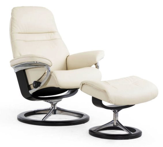 stressless sunrise large signature base johnson furniture