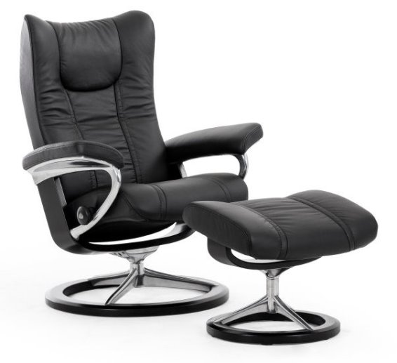 Stressless Wing Small Signature Base