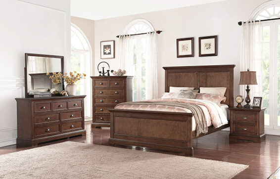 tamarack cherry bedroom