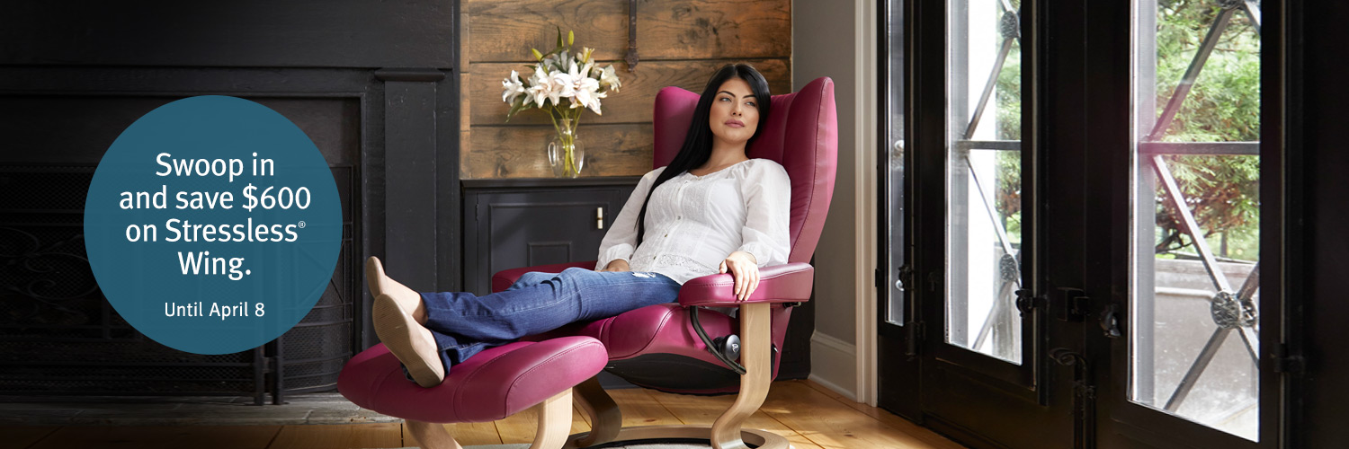 Stressless Wing Promotion
