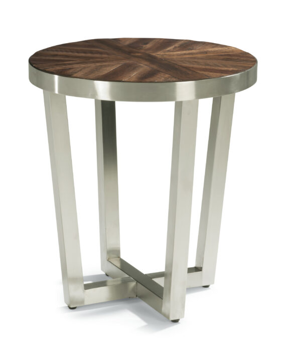 Flexsteel Axis Chairside Table