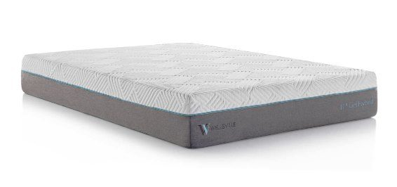 Wellsville 11 Inch Gel Foam Hybrid Queen Mattress