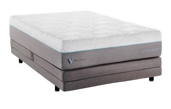 Wellsville 14 Inch Gel Foam Hybrid Queen Mattress