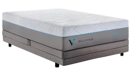 Wellsville 14 Inch CarbonCool King Mattress