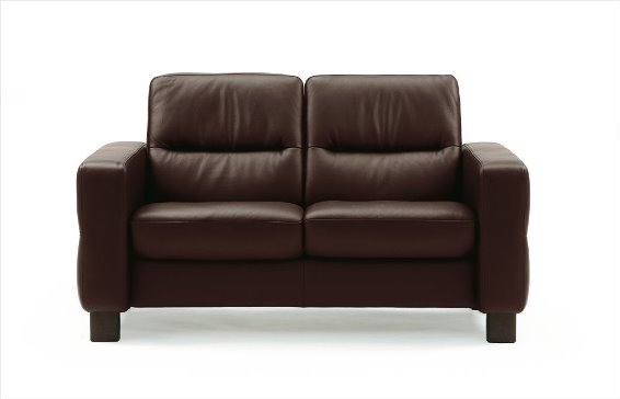 Stressless Wave 2S Loveseat Low Back