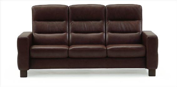 Stressless Wave 3S Sofa High Back