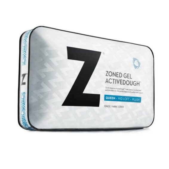 Malouf Zoned ActiveDough Gel Pillow Queen