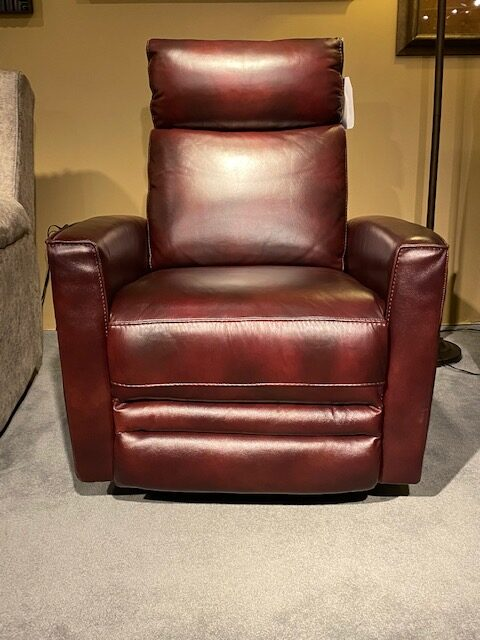 All Leather Power Recliner