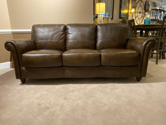 Clearance All Leather Sofa